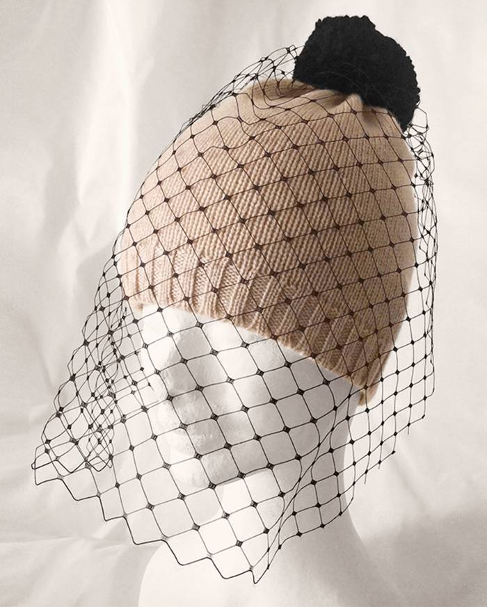 Baisesmamain - Cecilia Benetti Design - Cappello Voila Beige