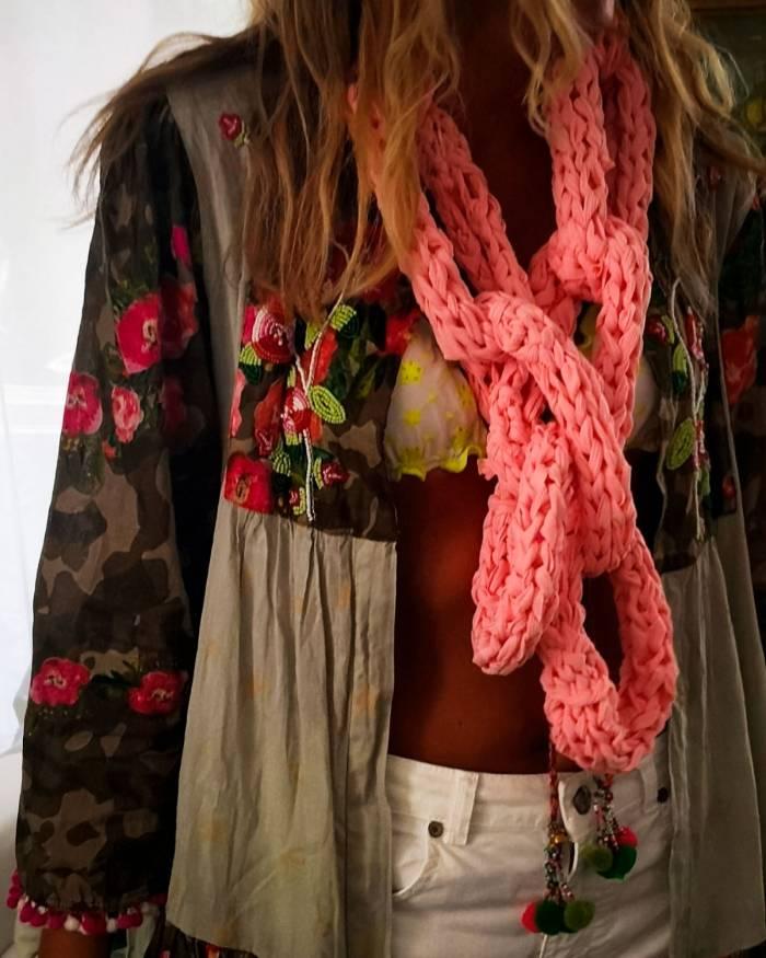 Baisesmamain - Cecilia Benetti Design - Sciarpa Summer Chain