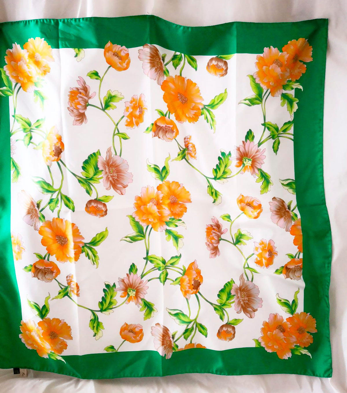 Baisesmamain - Cecilia Benetti Design - Cintura Sixty 60 Verde Fiori
